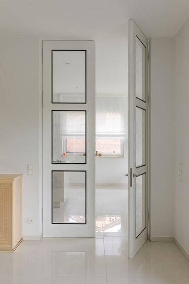 Modern Doors frameless doors FLAT traffic white by ComTür | Internal doors