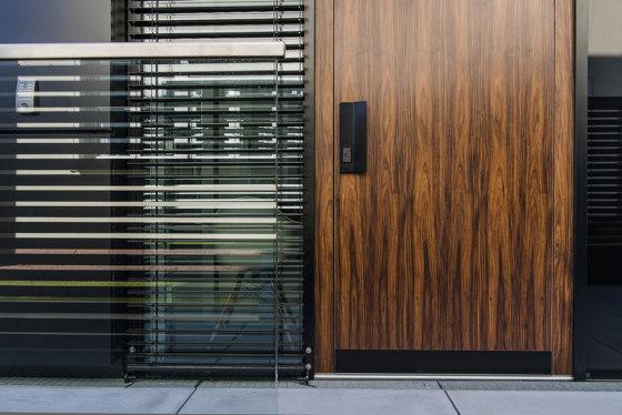 Modern front doors flush fitting doors NATURA by ComTür | Entrance doors