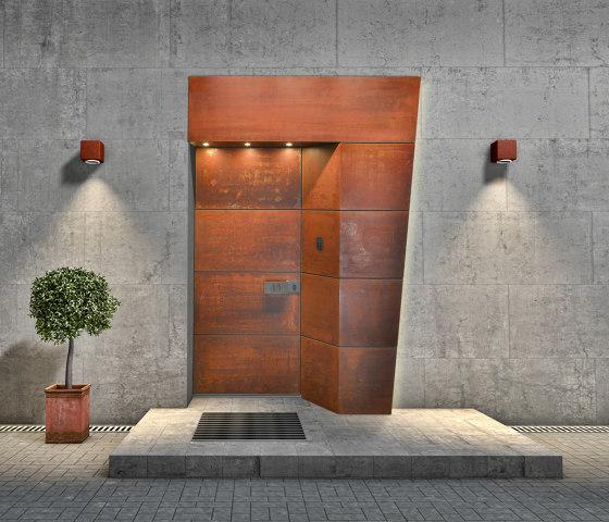 Modern front doors doors with special surfaces TITAN by ComTür | Entrance doors
