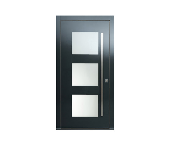 Modern front doors doors with special surfaces GALAXY by ComTür   Entrance doors