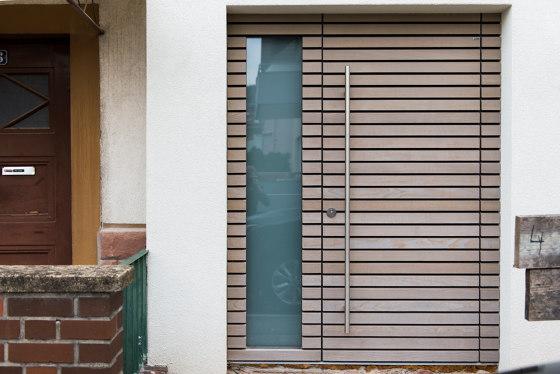 Modern front doors Custom made PRIVALINE by ComTür   Entrance doors