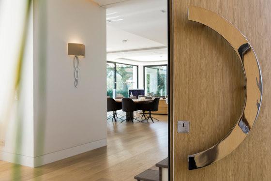 Modern front doors High security doors NATURA by ComTür | Entrance doors