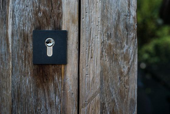 Modern front doors security doors PURE by ComTür   Entrance doors