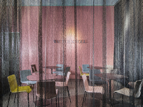 i-Mesh Curtains by i-mesh | Panel glides