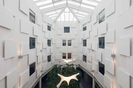 Design White | Rockfon Eclipse® wall panel by Rockfon | Mineral composite panels