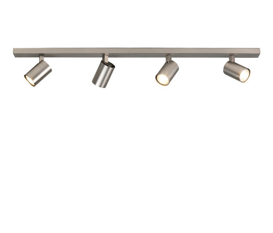 Ascoli Four Bar | Matt Nickel by Astro Lighting | Ceiling lights