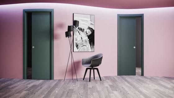 ANISE Curved sliding door by Ermetika | Internal doors