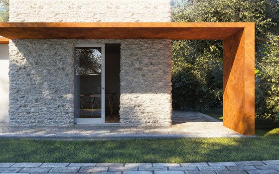 IRIDE Sliding system for lift and slide window door by Ermetika   Patio doors