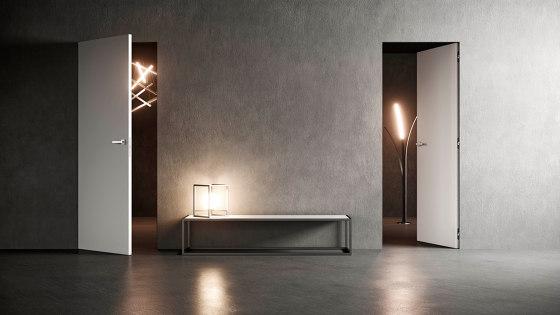 SWING Frameless swing door by Ermetika | Internal doors
