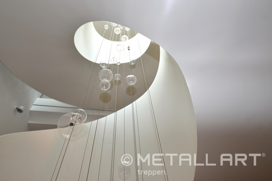 Modern folded stairs in the Lamaison hotel in Saarlouis by MetallArt Treppen   Staircase systems