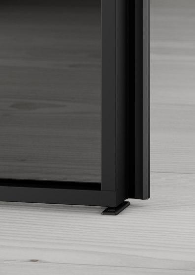 Swing Door Slim Line double-leaf by raumplus | Internal doors