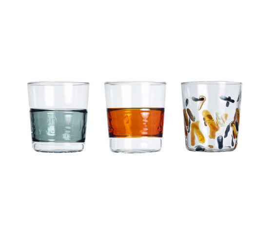 Water glasses set by Paolo Castelli   Glasses