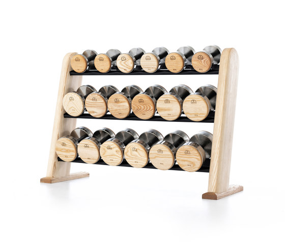 NOHrD DumbBells Ash by WaterRower | Fitness tools