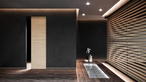 ABSOLUTE EVO Frameless sliding door by Ermetika | Internal doors