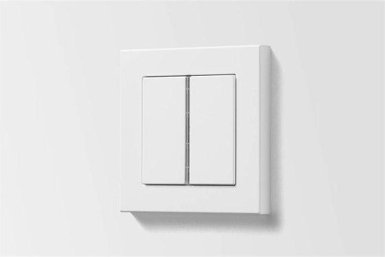 A 550 | push-button sensor matt snow white by JUNG | Push-button switches