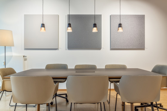 AluFrame Picture by objectiv   Sound absorbing objects