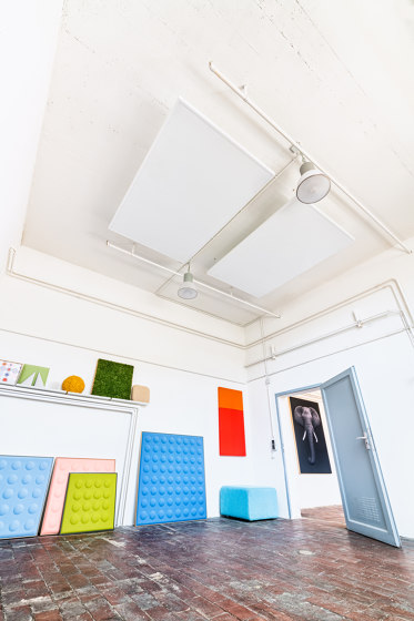 AluFrame Smart | Sail by objectiv | Ceiling panels
