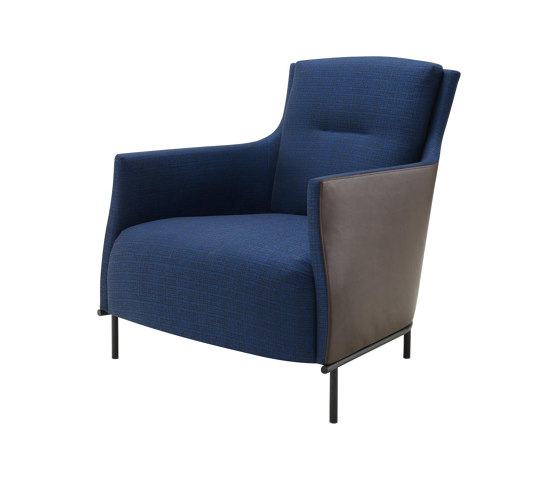 Riga | Armchair With Base Low Back Complete Item by Ligne Roset | Armchairs
