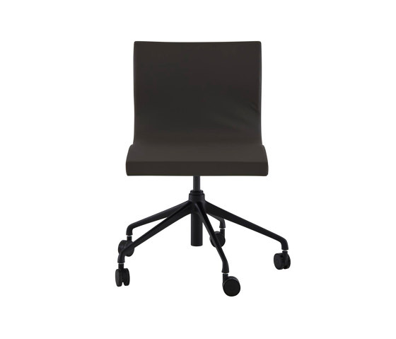 Sala | Desk Chair Black Base On Castors by Ligne Roset | Chairs