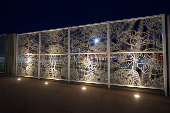 Lace Fence by REDFORT | Fences