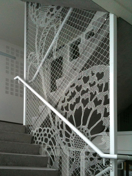 Lace Fence by REDFORT | Stair railings