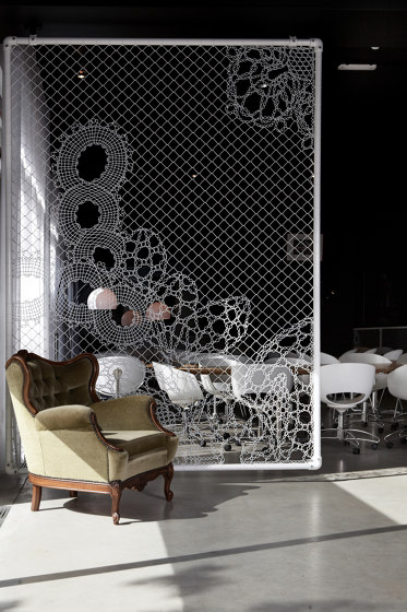 Lace Fence by REDFORT   Privacy screen