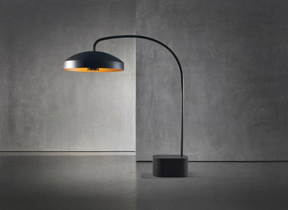 DISC FLOOR by Heatsail | Outdoor free-standing lights