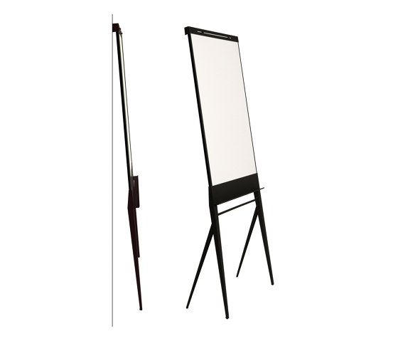 STRUIS Designboard black by StudioVIX | Flip charts / Writing boards