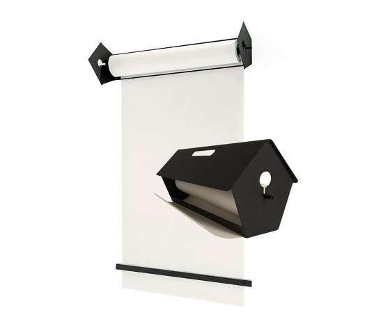 BLA-TIT table paper roller A2 by StudioVIX | Flip charts / Writing boards