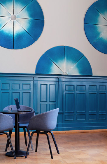 IRIS acoustic panels by StudioVIX | Sound absorbing wall systems