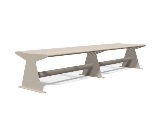Siardo 40 R Stool Bench 2400 by BENKERT-BAENKE | Benches