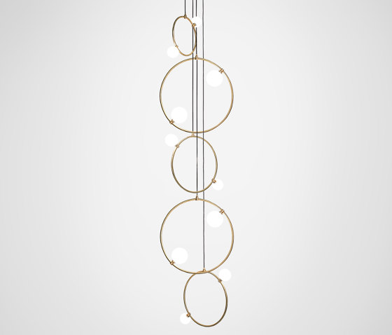 Drops Cluster - 5 Piece by Marc Wood Studio | Suspended lights