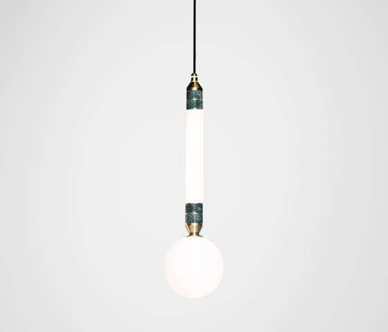 Greenstone Pendant - Small by Marc Wood Studio   Suspended lights
