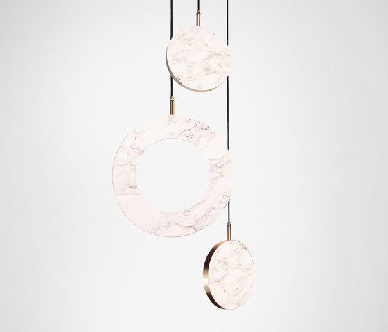 Rosa Ring - 3 Piece by Marc Wood Studio | Suspended lights