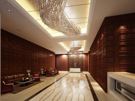 Zaga Panel Walnut by Mikodam | Wood panels