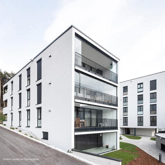 Balcony glasing SL Modular wärmegedämmt by Solarlux | Window types