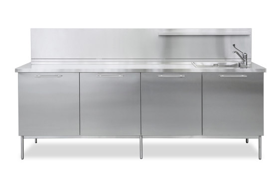 Domestic / outdoor | Domestic composition A by AGMA | Compact outdoor kitchens