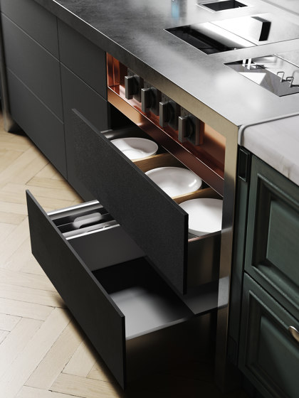C2 by Marrone + Mesubim | Compact kitchens