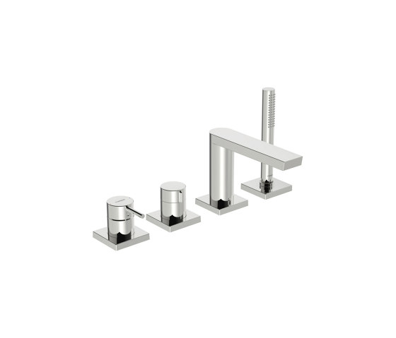HANSASTELA | Cover part for bath and shower faucet, 75x75 mm by HANSA Armaturen | Shower controls