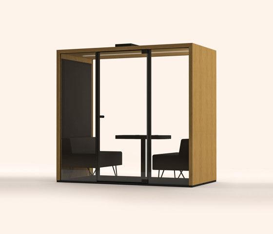 Lohko Box 2 Oak by Taiga Concept | Office Pods