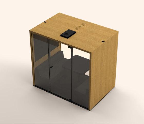 Lohko Box 3 Oak by Taiga Concept | Office Pods