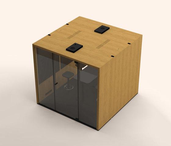 Lohko Box 5 Oak by Taiga Concept | Office Pods