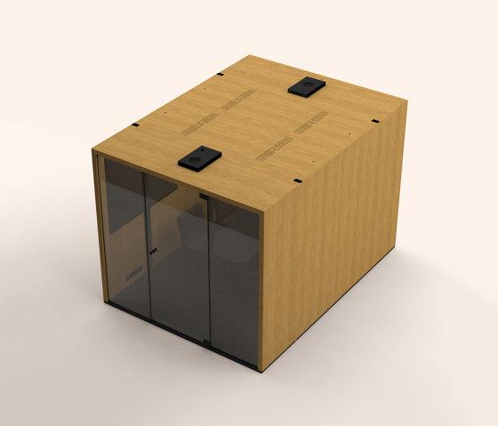 Lohko Box 7 Oak by Taiga Concept | Office Pods