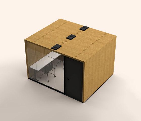 Lohko Flex 10 Oak by Taiga Concept | Office Pods