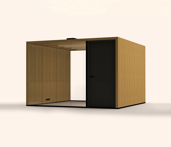 Lohko Flex 12 Oak by Taiga Concept | Office Pods