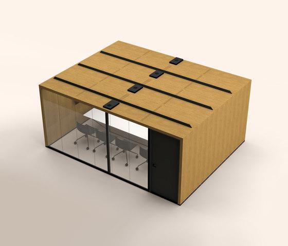 Lohko Flex 21 Oak by Taiga Concept   Office Pods