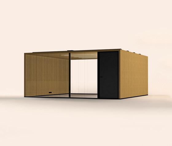 Lohko Flex 28 Oak by Taiga Concept | Office Pods