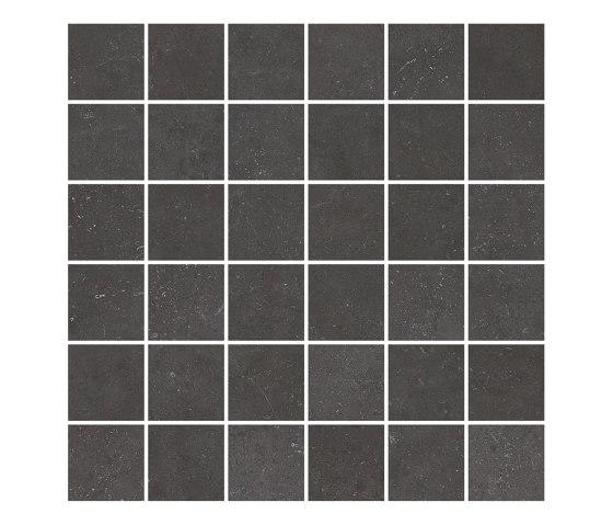 FLANDERS graphite 5x5/06 by Ceramic District   Ceramic mosaics