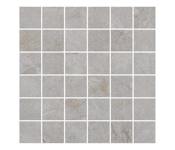 MILESTONE grey 5x5/06 by Ceramic District | Ceramic mosaics