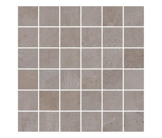 MILESTONE taupe 5x5/06 by Ceramic District | Ceramic mosaics